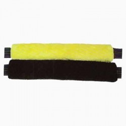 Synthetic sheepskin girth cover