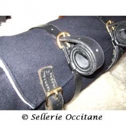 Straps for tie coat