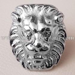 Tête de lion moyenne taille
