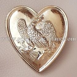 Cœur collier de chasse officier