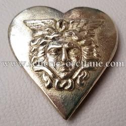 Cœur avec tête de gorgone 1er Empire