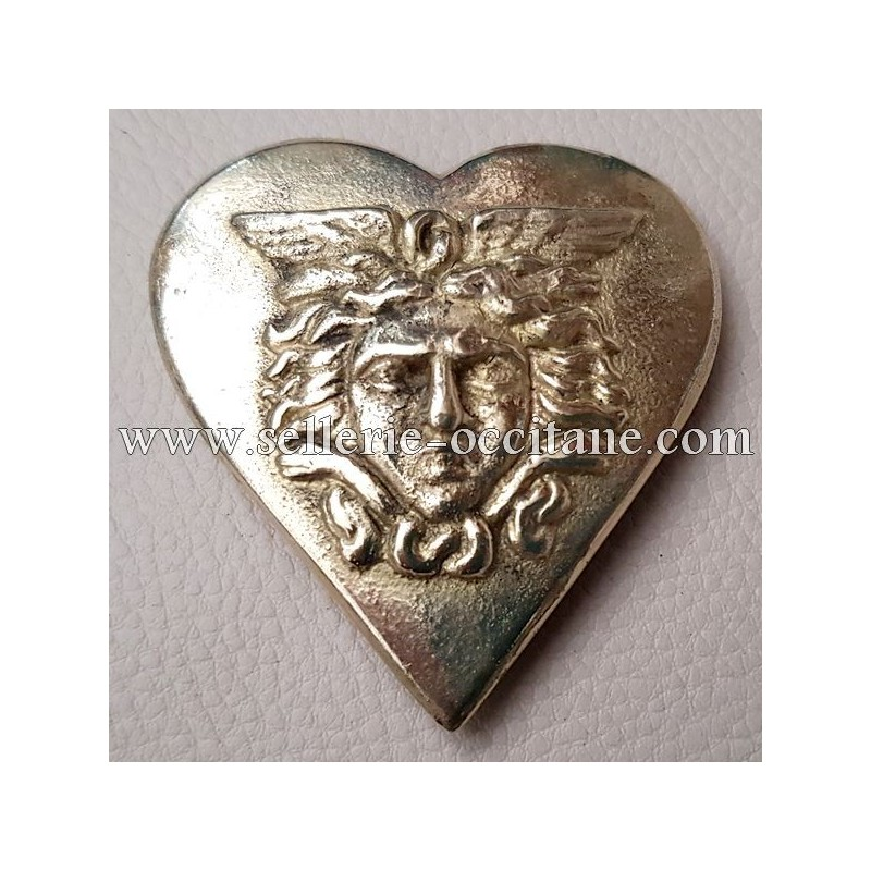 Heart with gorgon head first Empire