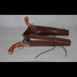 Double pommel holster not molded