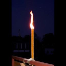 Oilcloth torch