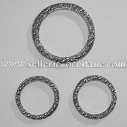 Lot de 3 anneaux pour collier de chasse