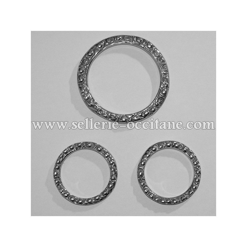 Set of 3 rings for breastplate