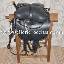 Cossack volting saddle