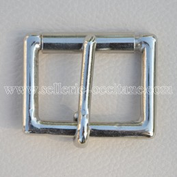 Square buckle with roll 40mm