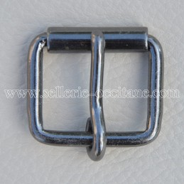 Buckle with roll 20mm