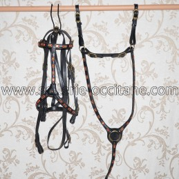 Bridle + breastplate LEITHA