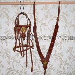 Bridon + collier de chasse...
