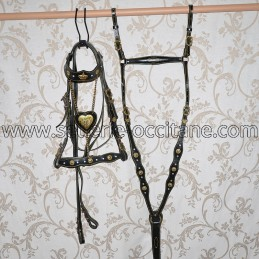Bridle + breastplate CASSANDRE