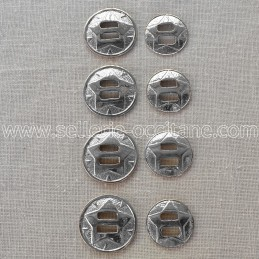 Conchos western (set of 8)