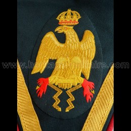 Pair of embroidered eagles...