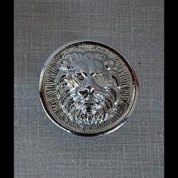 Cocarde Tête de lion sur...